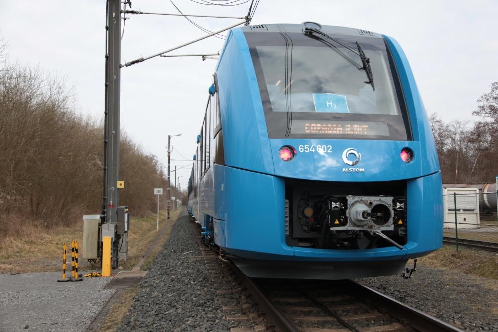 Trein op waterstof van Alstom