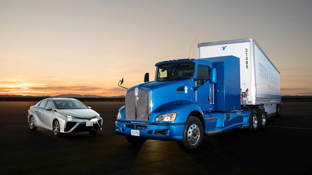 Toyota truck op waterstof