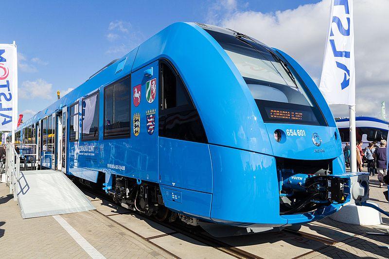 Alstom trein op waterstof