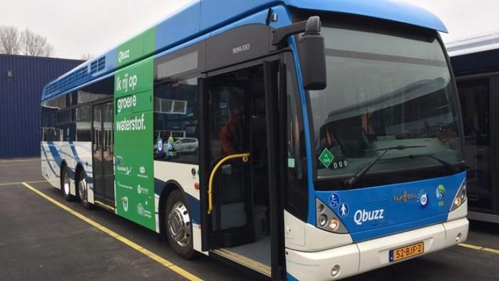 Proef met waterstofbus in Groningen