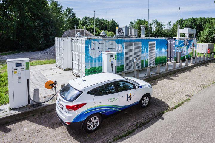 Waterstoftankstation Helmond