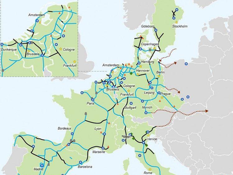 H2Platform: Plan voor Europees waterstofnetwerk gepresenteerd.